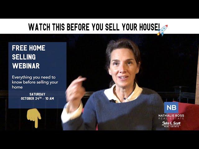 Free Home Selling Webinar - Seattle, WA