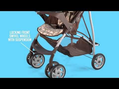 Graco Literider Click Connect Stroller Youtube