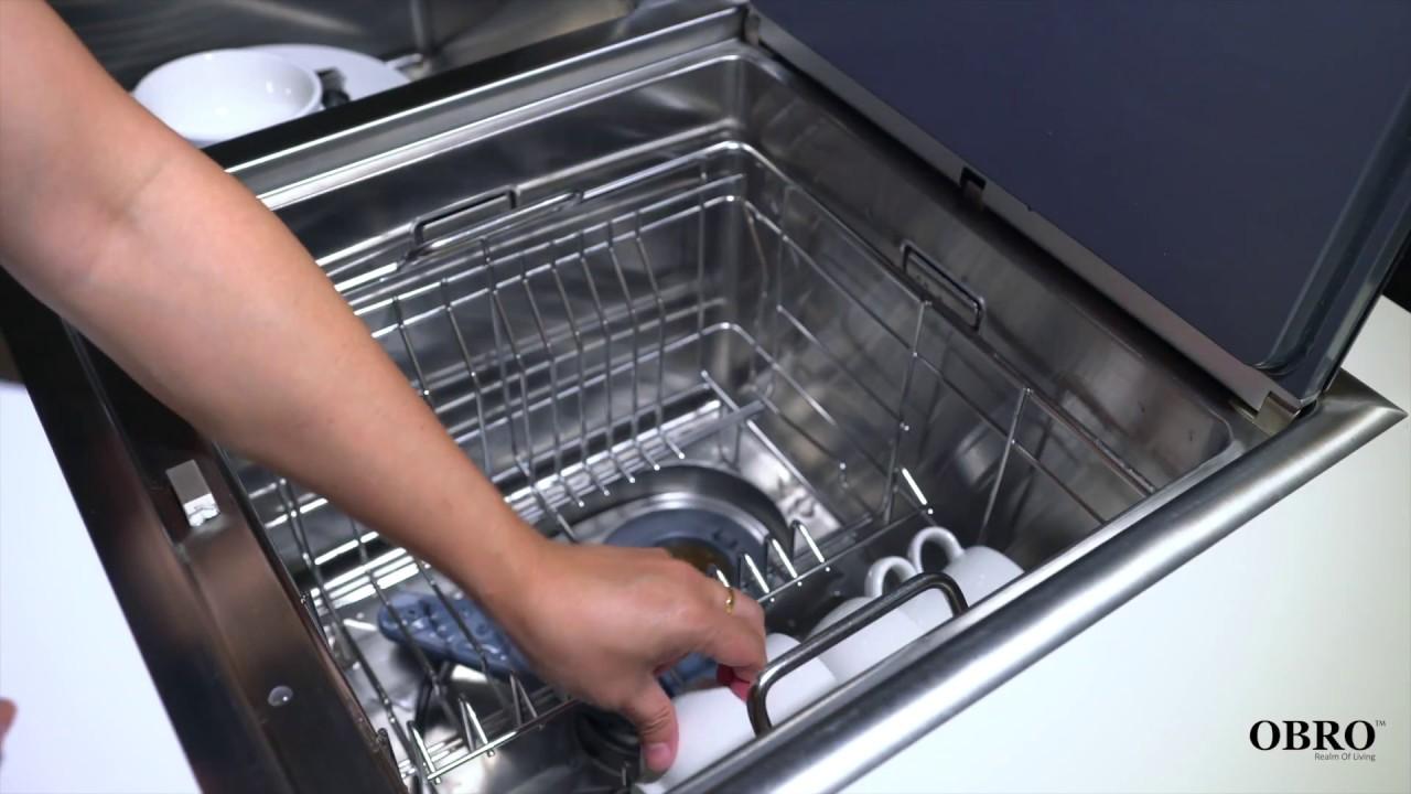 sink dishwasher live test obro