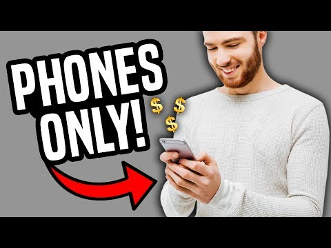 5 BEST Ways To Work Online From Your Smartphone! (Make Money Online)