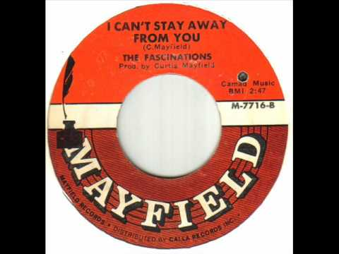 The Fascinations - I Can't Stay Away From You.wmv