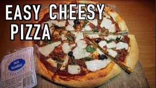 Quick Easy Cheesy Vegan Pizza