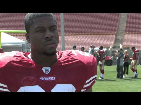 Upper Deck Interviews Glen Coffee, NFL No. 74 Draft Pick