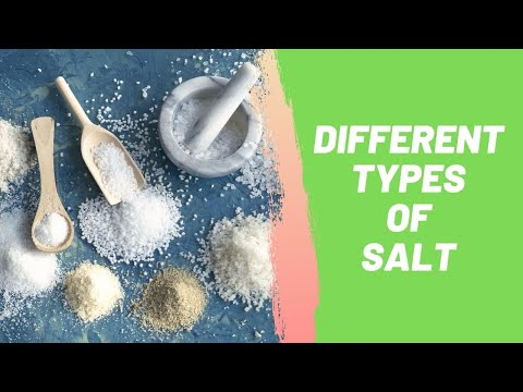 Ultimate Guide to Different Types of Salt