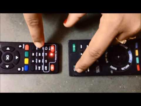 Make set top box remote work as tv remote