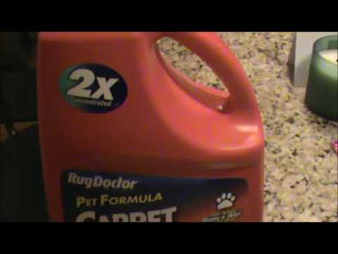 Rug Doctor Pet Formula Carpet Cleaner