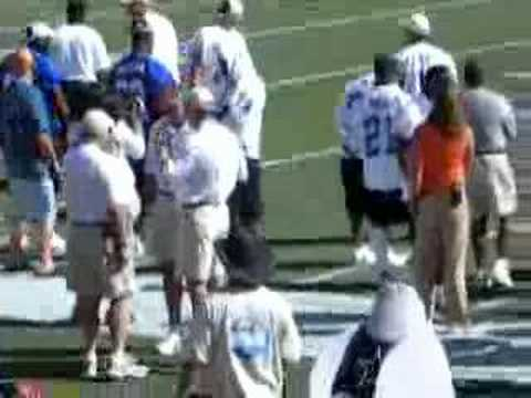 MVP Shaun Alexander 2006 Pro Bowl Practice.