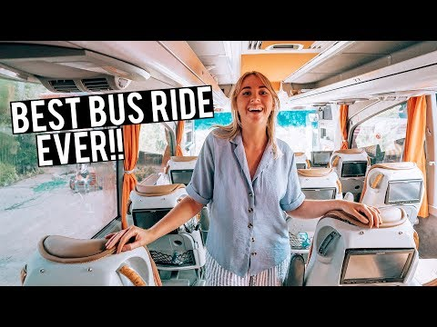 BEST TURKEY BUS EXPERIENCE EVER - 9 Hour Bus Ride to Cappadocia