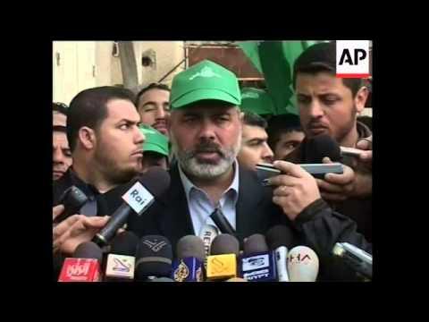 Changes Abbas comment, Qureia, Dahlan, Hamas, PFLP, disarmament