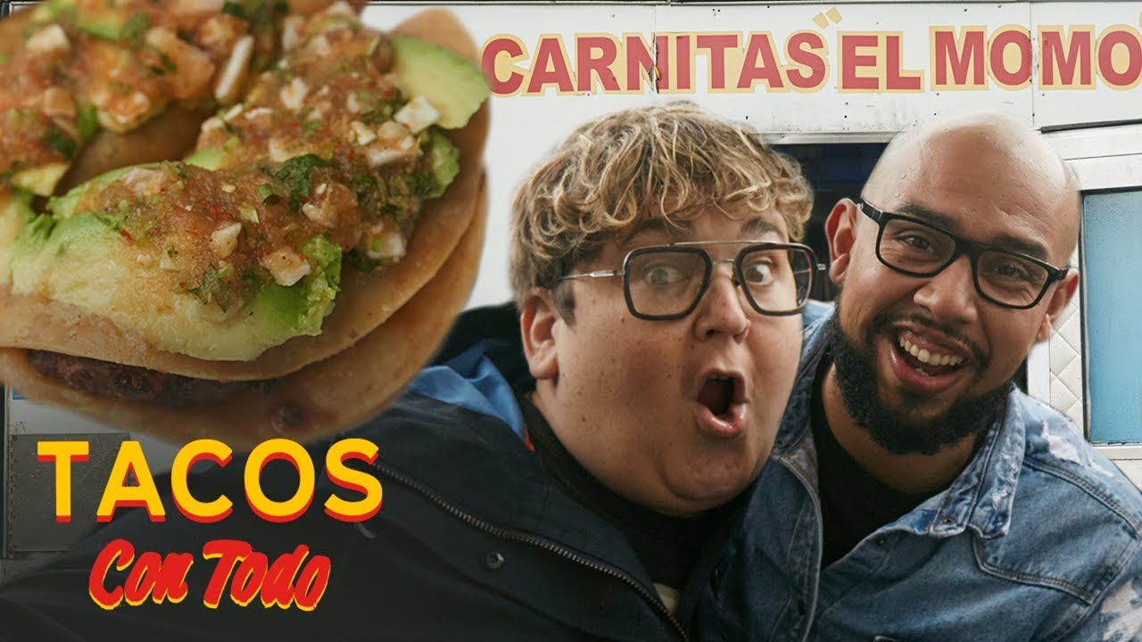 Regional Tacos 101 with Andy Milonakis and a Taco Scholar   Tacos Con Todo