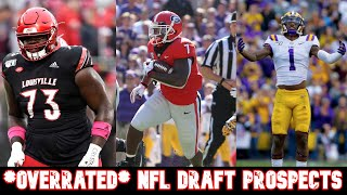 *OVERRATED* NFL Draft Prospects | 2020 NFL Draft
