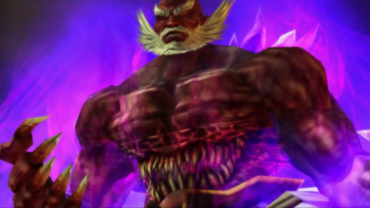 Tekken 5 Wang Jinrei 05 Jinpachi Mishima Youtube
