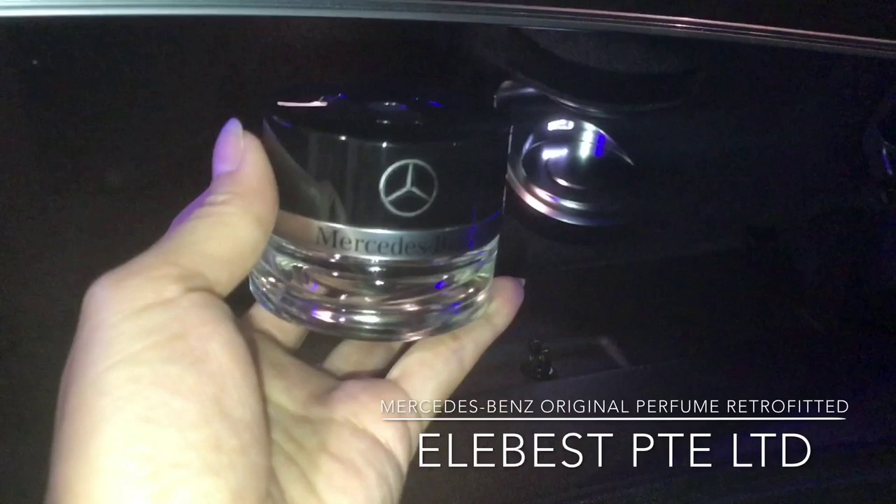 Mercedes Benz Original Perfume Retrofitted In W213 Youtube