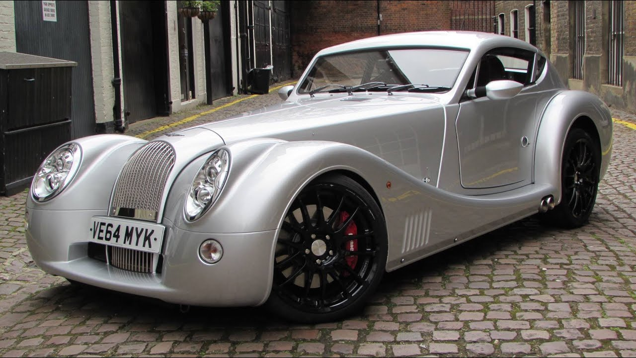 2014 Morgan Aero Coupe Start Up, Test Drive, and In Depth Review ...