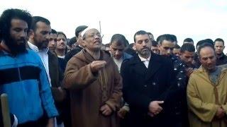 كلمة الشيخ علي بن حاج في جنازة والد الأخ ضرار ، جيجل ، يوم الخميس 10 ربيع الثاني 1437 ه