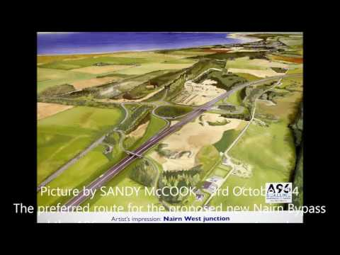 A96 for Dual Carriageway to Inverness Aberdeen
