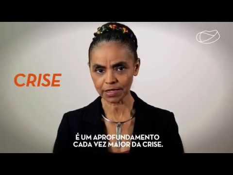 Marina Silva avalia agravamento da crise