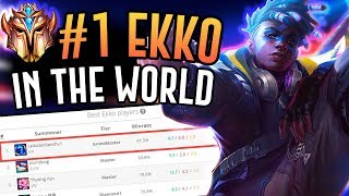 THE NUMBER ONE EKKO PLAYER IS INCREDIBLE!! - Korean Challenger Jungle - League of Legends