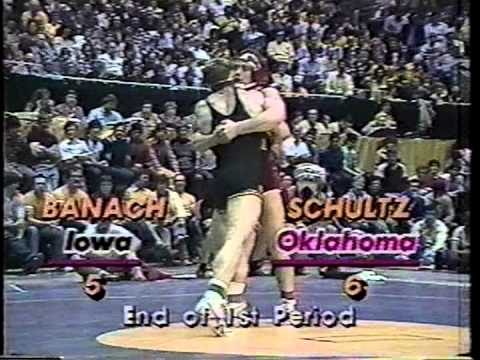 Mark Schultz vs Ed Banach NCAA Wrestling Finals