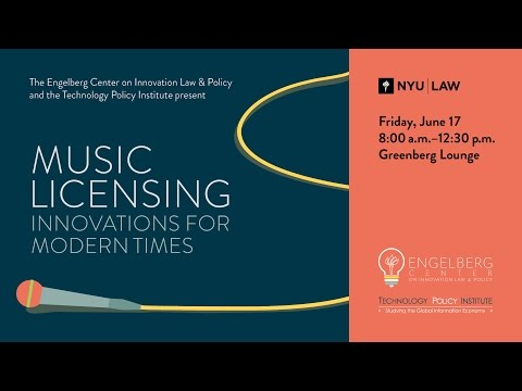 Roundtable 1, Music Licensing: Innovations for Modern Times