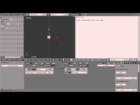 How To Load & Play Sounds in Blender BGE Scripting