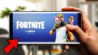 NOUVEAU Fortnite Mobile ANDROID DOWNLOAD!!
