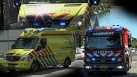 0589e73778f9c9 PRIO 1 - 3x A1 Uitruk Ambulance Maastricht - Brandweer komt ter plaatse bij  containerbrand - Duration: 5 minutes, 50 seconds.