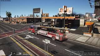 Gta v fivem fib building on fire midwestrp 75