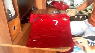 Посылка с Китая #55- футбольная форма Portugal со своим Ф.И.О(, 2014-07-31T14:21:22.000Z)
