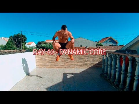 DAY 40 - 25 MIN FATBURNER WORKOUT - DYNAMIC CORE