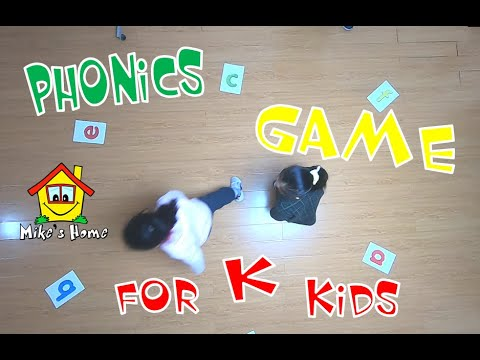 PHONICS KINDERGARTEN GAME – ESL teaching tips – ESL games – Mike's Home ESL