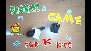 Phonics Kindergarten Game   Esl Teaching Tips   Esl Games   Mike's Home Esl