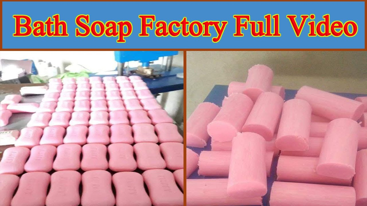 Download How To Bath Soap Making Process   Soap Factory Visit Full Video