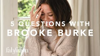 5 Questions With Brooke Burke