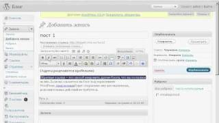 Урок wordpress. Информация в пост.GDI