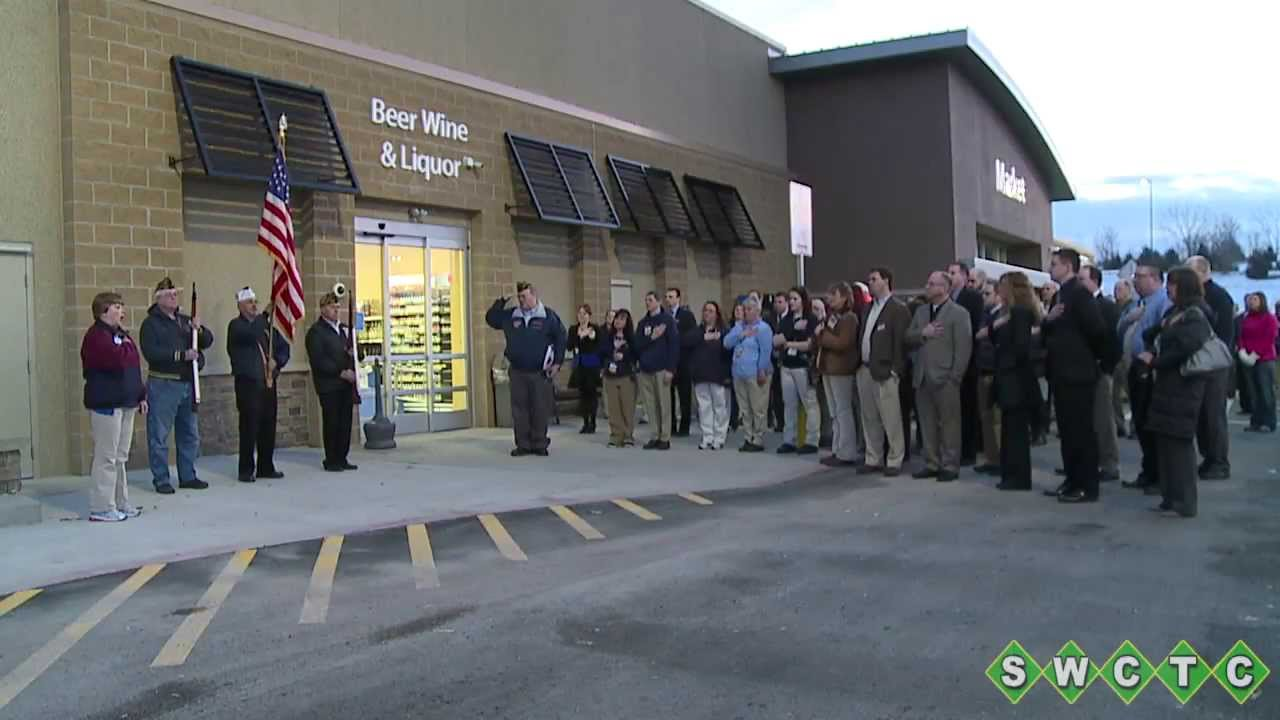 Walmart Ribbon Cutting Mar 2014