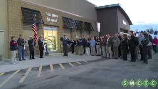 Walmart Ribbon Cutting Mar 2014 - Cottage Grove MN