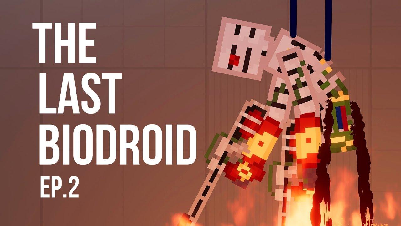 The Last Biodroid #Ep.2 - Burn'em all [People Playground 1.18]