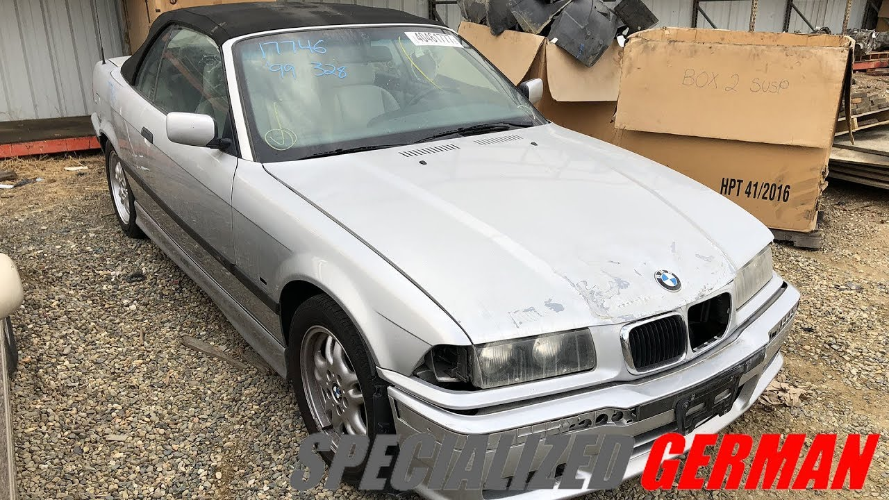 1999 bmw 328i convertible for parts 17746 specialized german [ 1280 x 720 Pixel ]