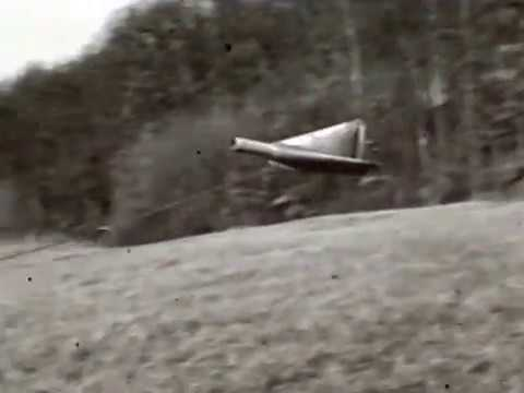 Model Test: Ramjet Model Landing And Gliding (undated)