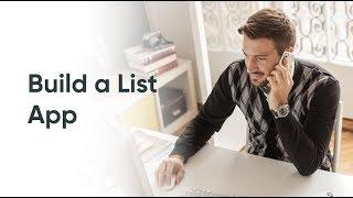 Mobile Studio   Build a List App