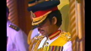 Sultan of Brunei - History and Coronation - 1983