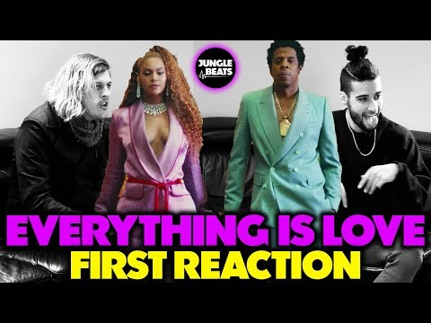 BEYONCÉ & JAY Z - EVERYTHING IS LOVE REACTION/REVIEW (Jungle Beats)