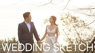 [WEDDING VLOG] 웨딩촬영 스케치 ♥ 우리 결…