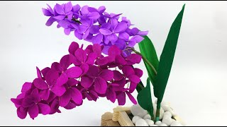 Beautiful Flower Making With Paper | DIY | Paper Flower Making | Very Easy DIY Crafts | Home Decor