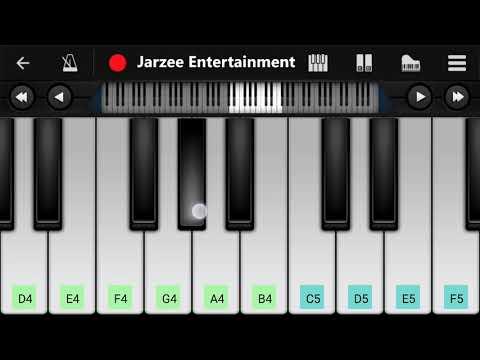 Tere Naam Humne Kiya Hai - Easy Mobile Piano Tutorial | Jarzee Entertainment