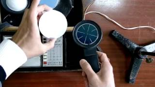 Обзор люксметра Ю117. The review of the luxometer U 117.