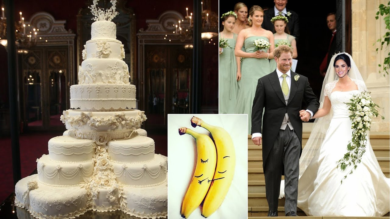 harry and meghan the wedding cake harry and meghan want wedding cake made from banana 15095