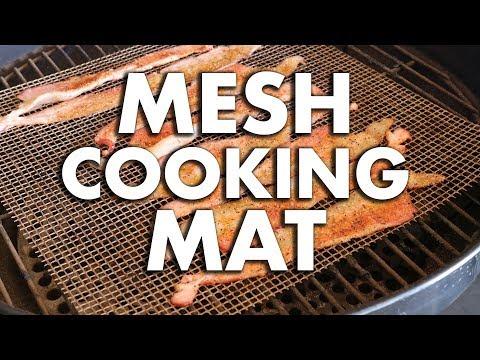 Mesh Cooking Mat   REC TEC Grills