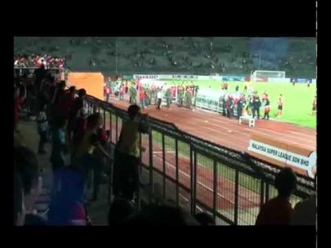 Malaysian Super League (Sarawak vs Lion XII FC) end game Travel Video